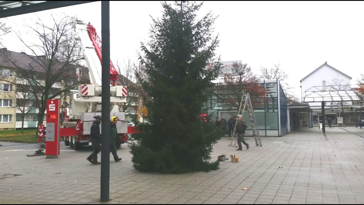 weihnachtsbaum aufstellen in drispenstedt youtube. Black Bedroom Furniture Sets. Home Design Ideas