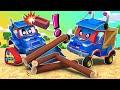 Супер Бульдозер против ЗЛОГО РОБОТА! | Супер Грузовик | Car City World App