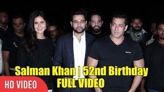 Salman Khan With Katrina Kaif Celebrates 52nd Birthday At Panvel Farmhouse | FULL VIDEO