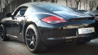 Porsche Cayman S Black Edition 2012 Videos