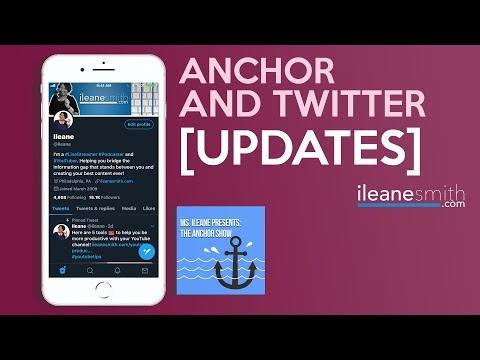 Twitter Hidden Features And Anchor App Updates