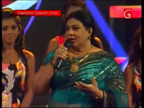 Chandrika siriwardena (igillila yanna yan)With Derana Dream Star