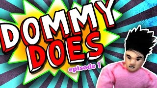 DOMMY DOES: A DANCE BATTLE VS D-TRIX