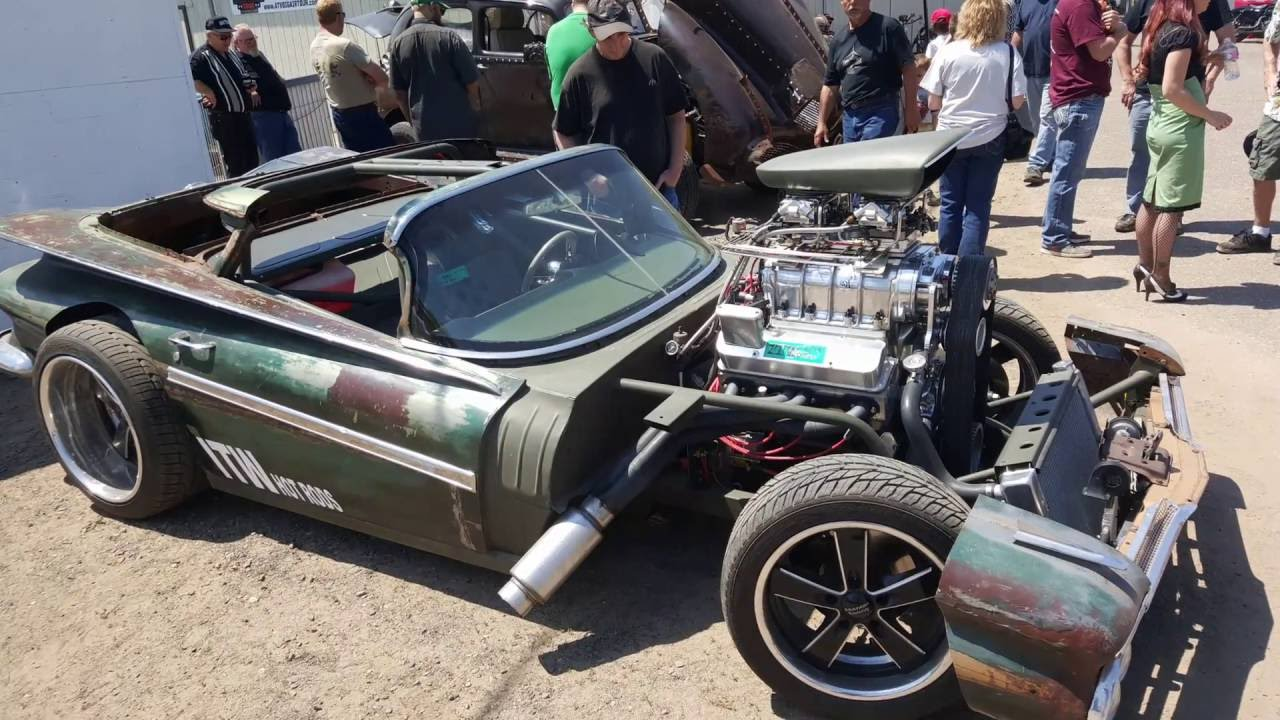 Rat Rods From The Princeton Car Show 2016 Youtube