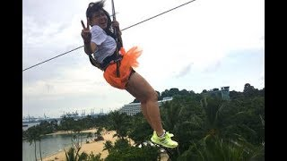 MegaZip Adventure at Sentosa Island Singapore