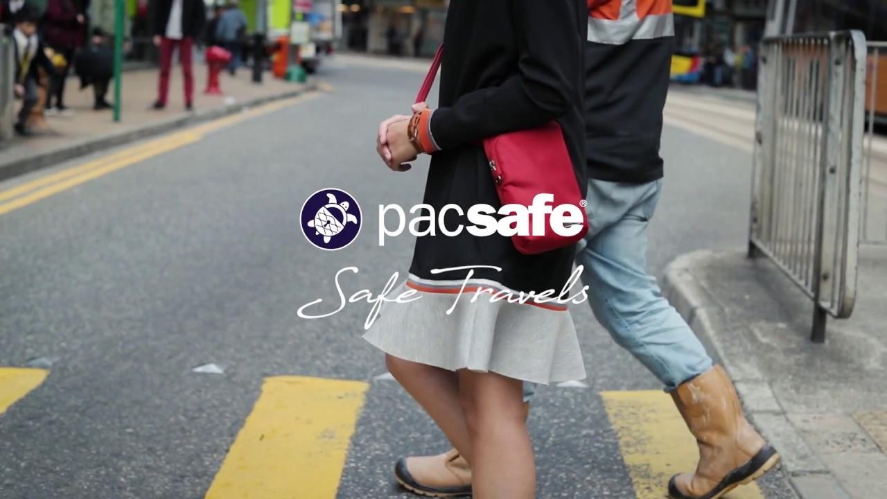 301dca4b5e PACSAFE коллекция DAYSAFE - YouTube