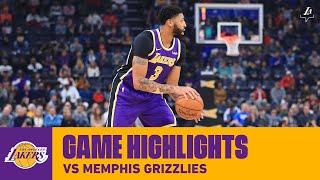 HIGHLIGHTS | Anthony Davis (22 pts, 5 blk) vs. Memphis Grizzlies