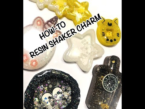How To - Resin Shaker Charm