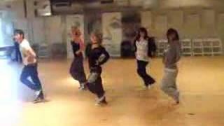 Rehearsing a Sheryl Murakami routine-Donna Hood