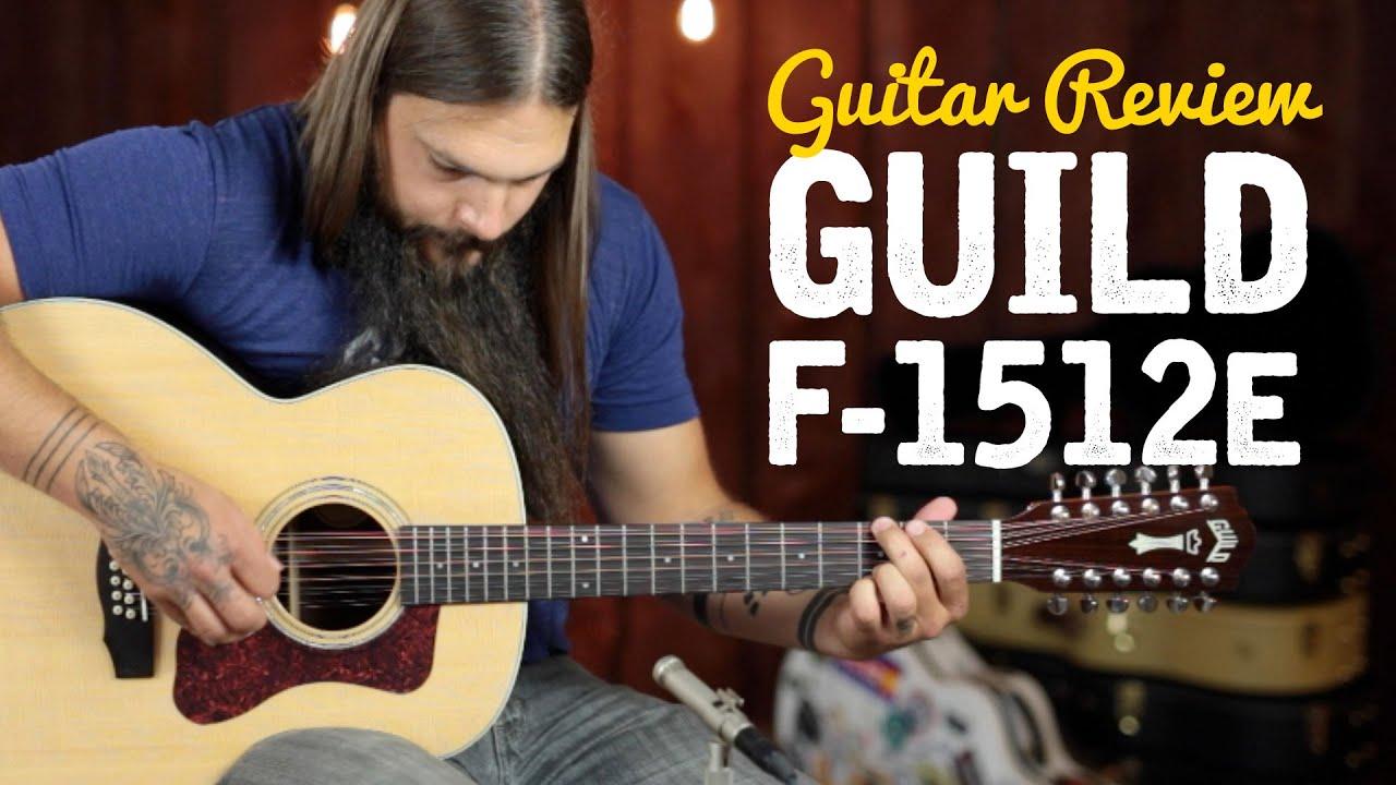 guild f 1512e 12 string â guitar review youtube