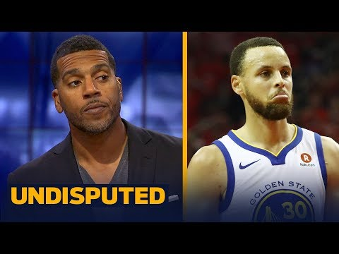 Jim Jackson on why Steph Curry isn't to blame for Warriors Game 2 loss to Rockets | NBA | UNDISPUTED