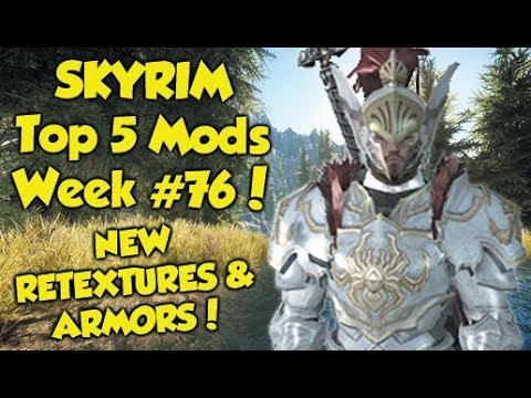 Skyrim Remastered Top 5 Mods of the Week #76 (Xbox One Mods) thumbnail