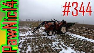 Pierwsza dawka azotu na rzepak - Życie zwyczajnego rolnika #344