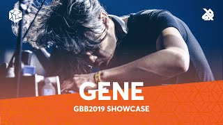 GENE SHINOZAKI | Grand Beatbox Battle Showcase 2019