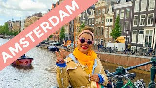 AMSTERDAM TULIP FIELDS - Amsterdam Couples Vlog Spring - COLOR ME COURTNEY
