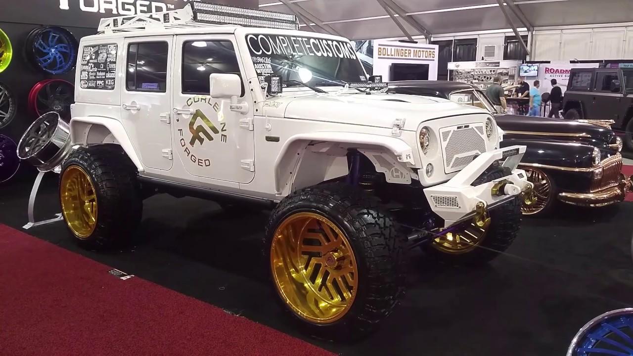 Jeep With Rims >> 877 544 8473 26x14 Corleone Forged Dedaldo Gold Rims Jeep Wrangler