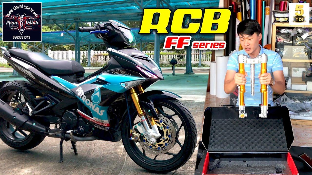 Review RCB FF series Y15ZR ▶️ Lên phuộc USD RCB FF series cho Exciter 150 🔴 TOP 5 ĐAM MÊ