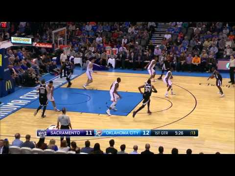 Sacramento Kings UCLA post action
