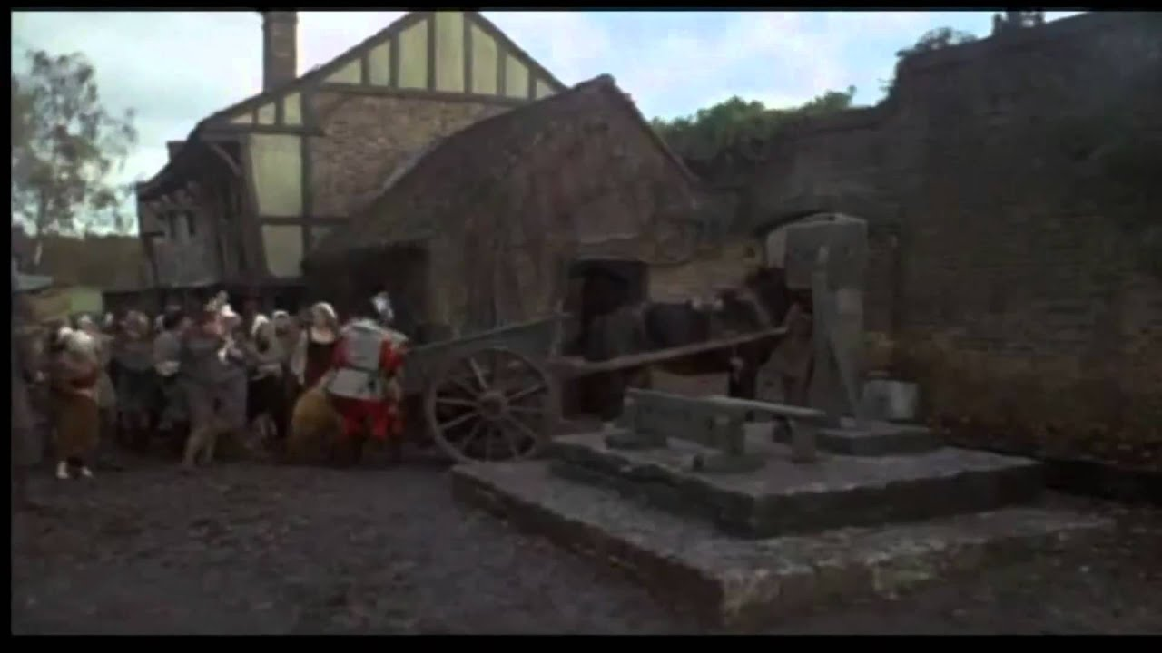 Pillory And Stocks Scenes Movies Compellation No 1Mp4