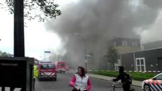 Grote Brand In Waalwijk  (26-05-09)
