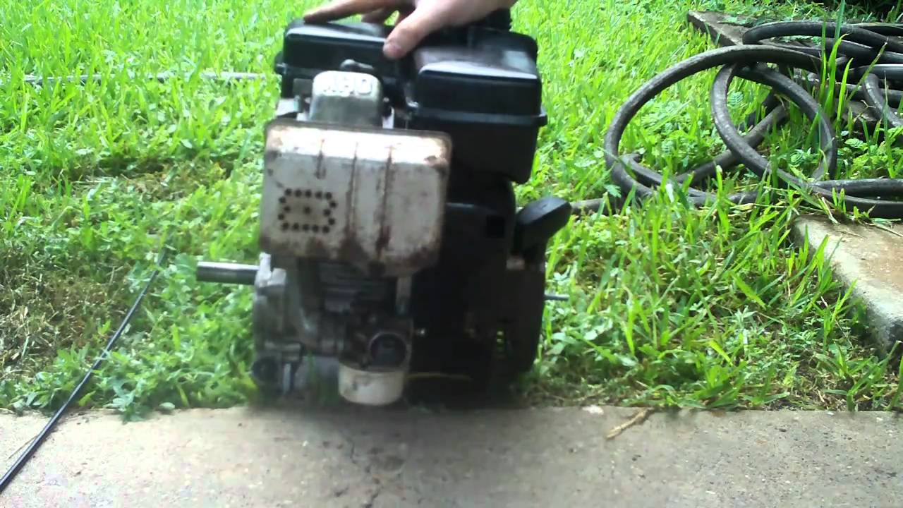 Modified Tecumseh 5hp engine-part 1