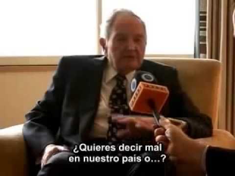 Benjamin Fulford expone a David Rockefeller