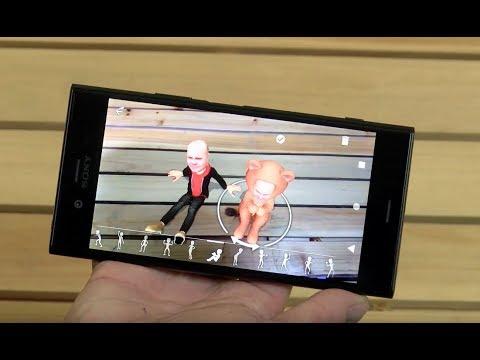 Sony XZ1. Смартфон, AR и HDR.