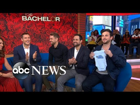 Colton Underwood Talks About His Love Journey And That Fence Jump Gma Youtube