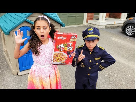 Heidi and story about Police Kid Patrol
