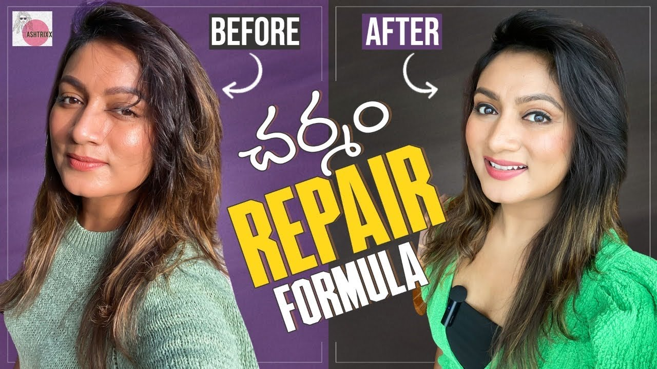 Skin repair || Before After || Tan removal || Glow || Ashtrixx