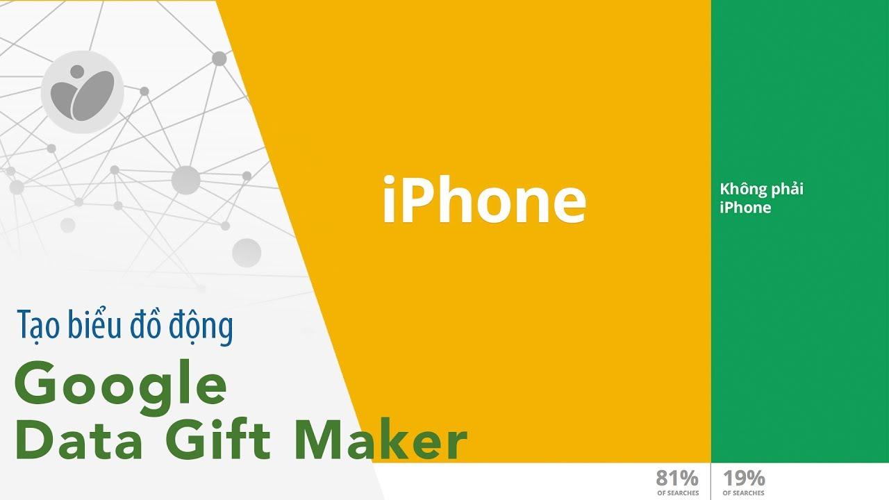 Hướng dẫn tạo biểu đồ động với Google Data Gif Maker | Tinhte.vn