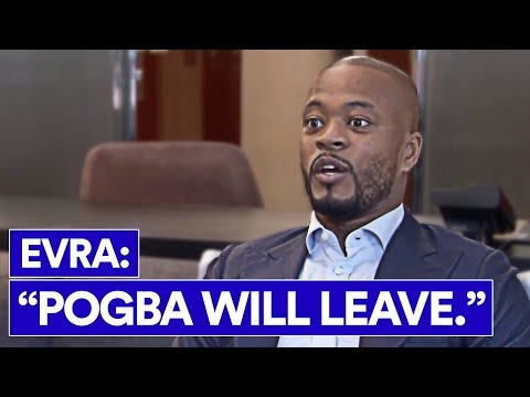 IS EVRA RIGHT ABOUT POGBA AND MAN UTD?
