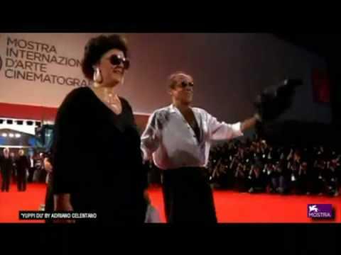 Claudia Mori   Adriano e Rosita Celentano Venezia 08