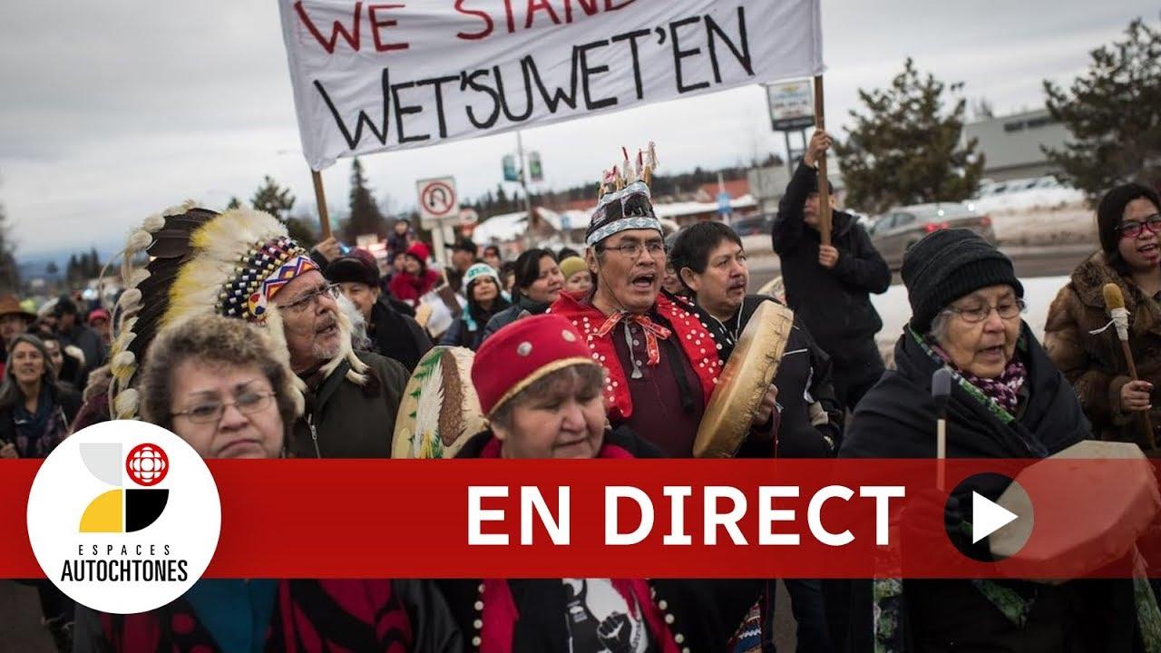 Espaces autochtones en direct :               le conflit en territoire Wet'suwet'en