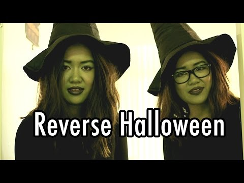 Reverse Halloween. If Witches, Zombies, and Ghosts dressed as humans