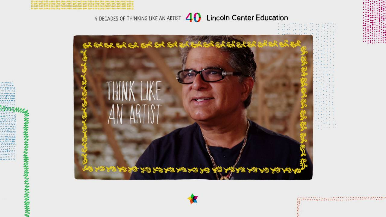 Think Like An Artist: Deepak Chopra