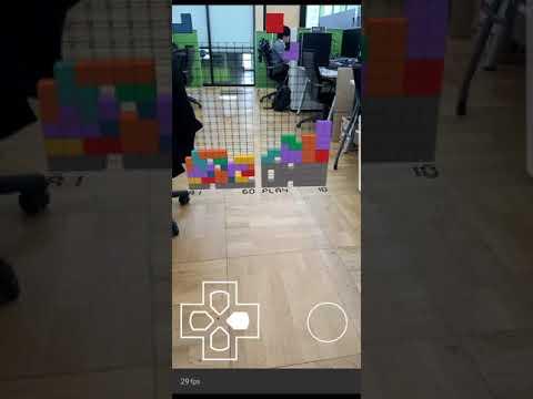 ARCore Tetris