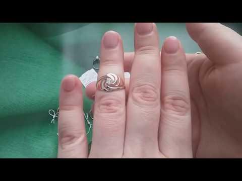 ЗОЛОТЫЕ кольца с камнями 2 часть !