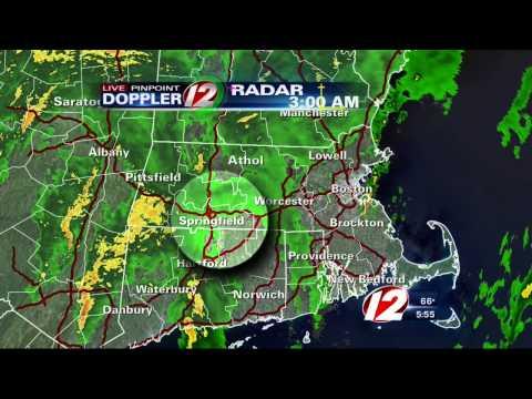 Microburst hits New England town