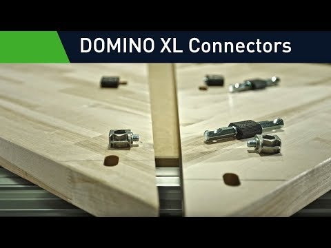 Domino Connectors: Simple knock-down fasteners for the Domino XL