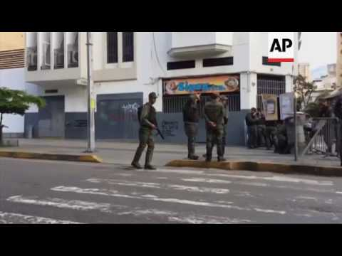 Troops outside Venezuela chief prosecutor's office