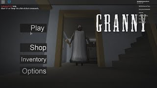 GRANNY HORROR ~ GRANNY ROBLOX MAP