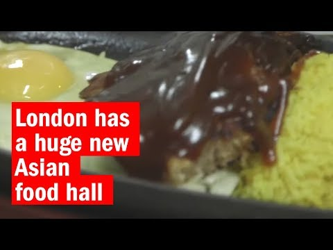 London has a huge new Asian food hall | First Look | Time Out London