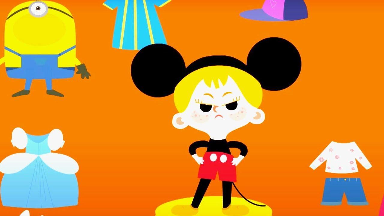 Masha y su ropero serie - El parque infantil - Vídeo para niñas