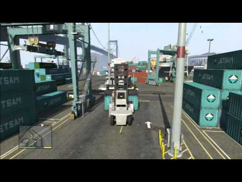 GTA V Missions: #28 Scouting The Port (Trevor)