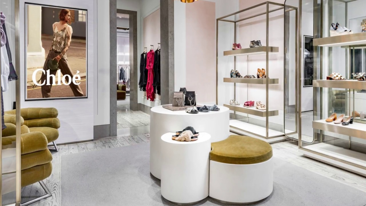 Chloe Boutique SOHO - YouTube 9edb75528171