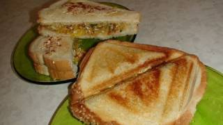 Masala Sandwich (Indian style) Video Recipe by Bhavna