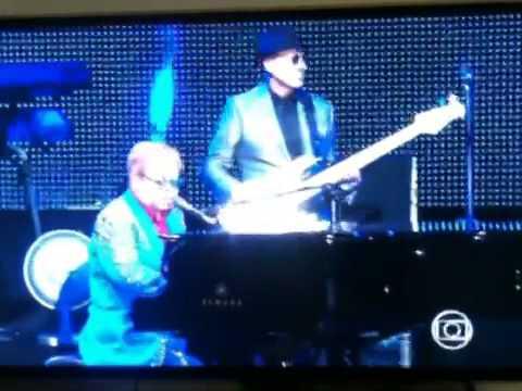Elton John - Skyline pigeon - in Belo Horizonte