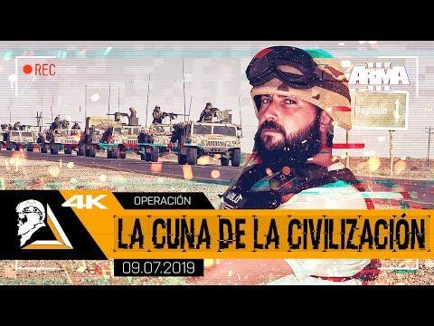 OPERACIÓN LA CUNA DE LA CIVILIZACIÓN - ARMA3 1st Recon USMC - SQUAD ALPHA - DIABLO HELMETCAM