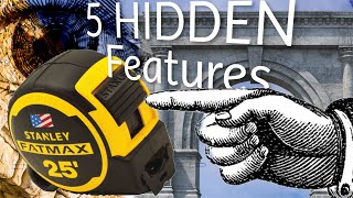 5 Amazing Hidden Features in Tape Measures